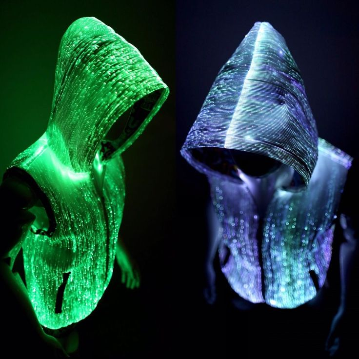 Light Up Glow Hoodies For Men Edm Clothes Rave Outfits Burning Man Clothing #YOURMINDYOURWORLD #Hoodie