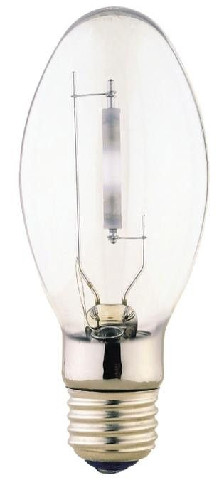 70 Watt ED17 HID High Pressure Sodium Light Bulb, 1900K Clear E26 (Medium) Base, Box