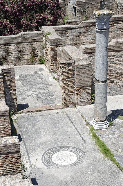 Ostia Antica, ancient Roman harbour