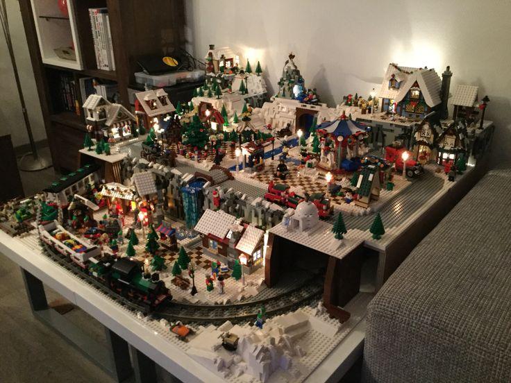 LEGO winter village 2015