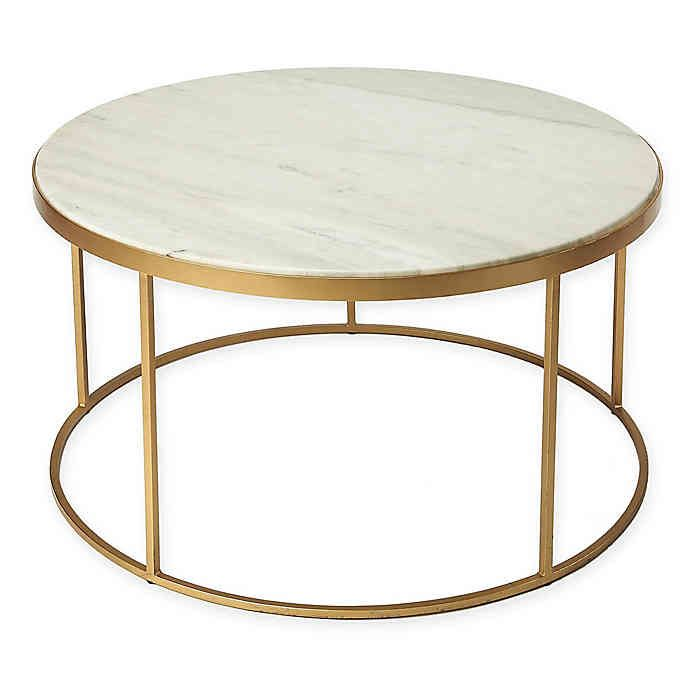 Butler Loft Coffee Table In Gold In 2020 Coffee Table Table