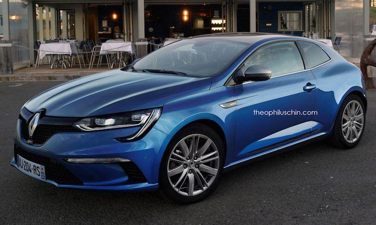 Cette proposition pour la Renault Megane Coupé 2016 a été faite par un blogueur grâce aux photos officielles de la nouvelle Megane 2016.