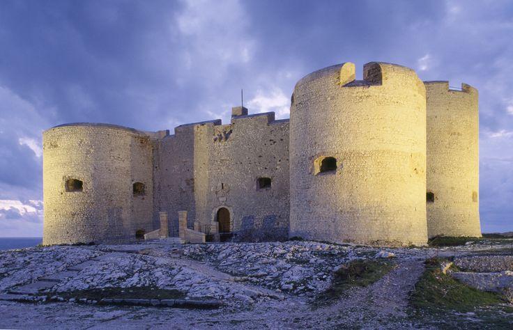 Le Château d'If à Marseille © Centre des Monuments Nationaux Paris P. Berthé #voyage #france #marseille #chateaudif