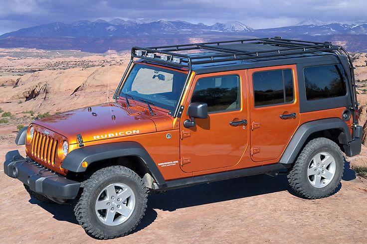 Gobi 2007 14 Jeep Jk 4 Door Stealth Roof Rack With Sun