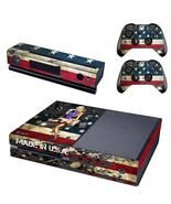 American flag design decal sticker for xbox one console & controllers skin - $15.00