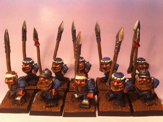 Classic Imperial dwarf army
