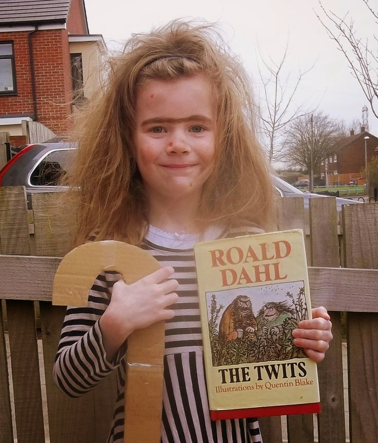 World Book Day 2015, The Twits, Danny the Champion of the World, easy costumes, look fantastic! Mrs Twit