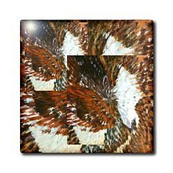 """Abstract Butterflies - 12 Inch Ceramic Tile by Florene. $22.99. Construction grade. Floor installation not recommended.. High gloss finish. Dimensions: 12"""" H x 12"""" W x 1/4"""" D. Clean with mild detergent. Image applied to the top surface. Abstract Butterflies Tile is great for a backsplash, countertop or as an accent. This commercial quality construction grade tile has a high gloss finish. The image is applied to the top surface and can be cleaned with a mild detergent."""