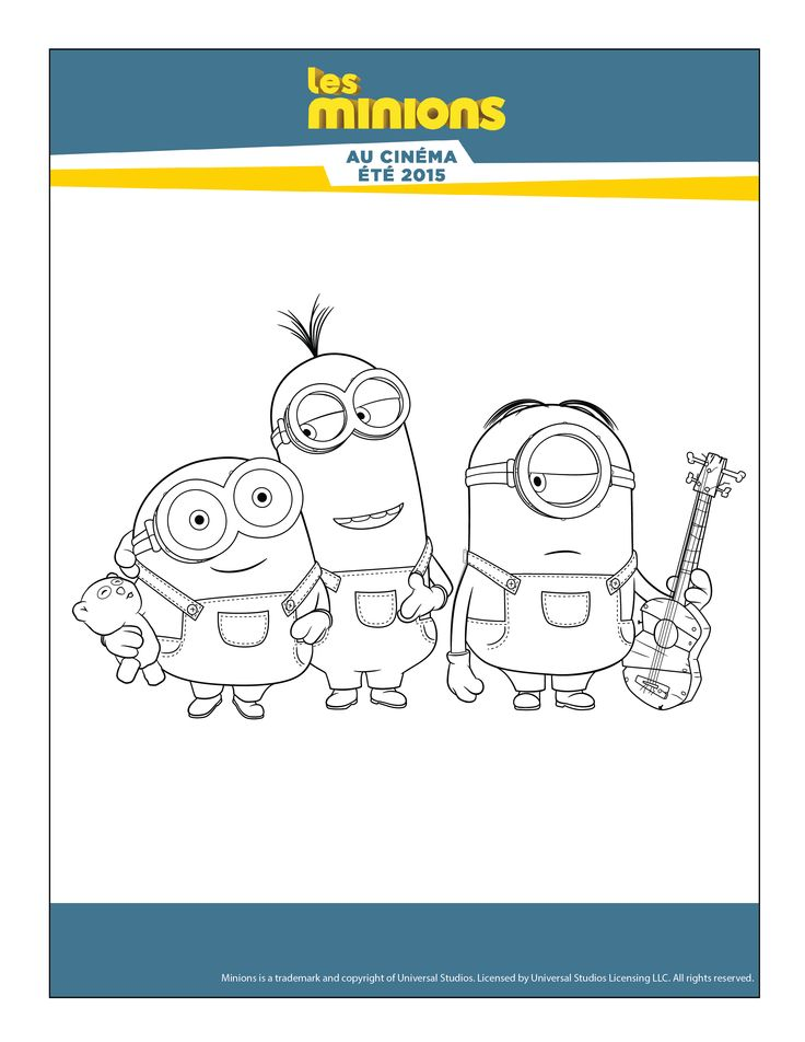 Minion Goodies Home Games Drawings