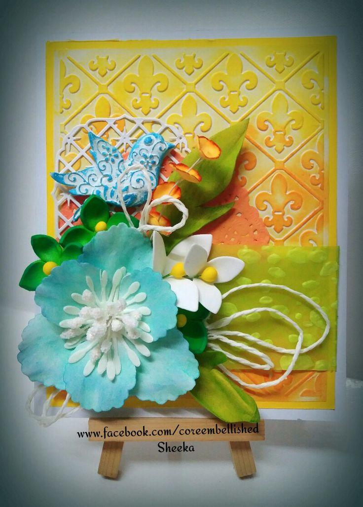 #Foamiran  #mixmedia  #envelopes   #flowers #coreembellished #handmade  www.facebook.com/coreembellished
