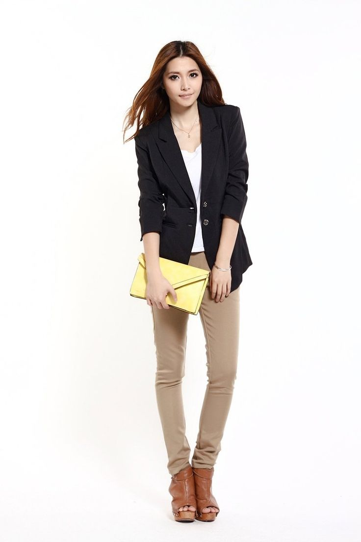 Find More Blazers Information About 2012 Newest Style Blazer Women Elegant Office Lady Fashion
