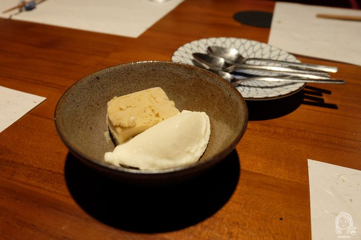 Nagahori - Michelin 1 star Izakaya in Osaka - Panna Cotta