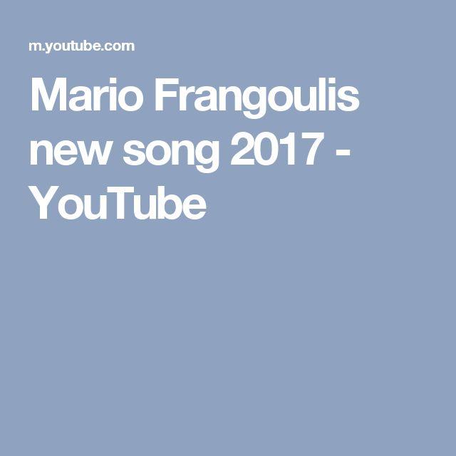 Mario Frangoulis new song 2017 - YouTube
