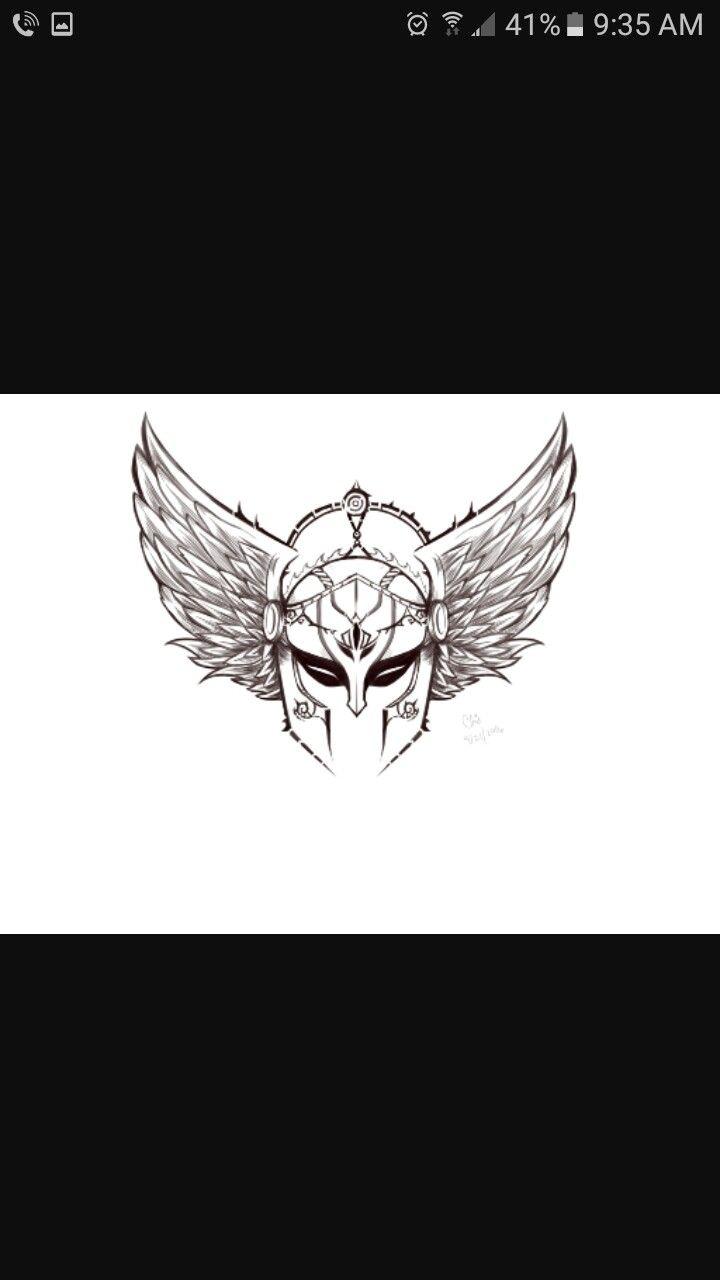 Valkyrie tattoo idea