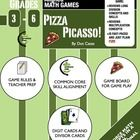 Color the Perfect Pizza!  Your students will love this high interest, common-core aligned fast-paced partner game to help them master long division... FREE