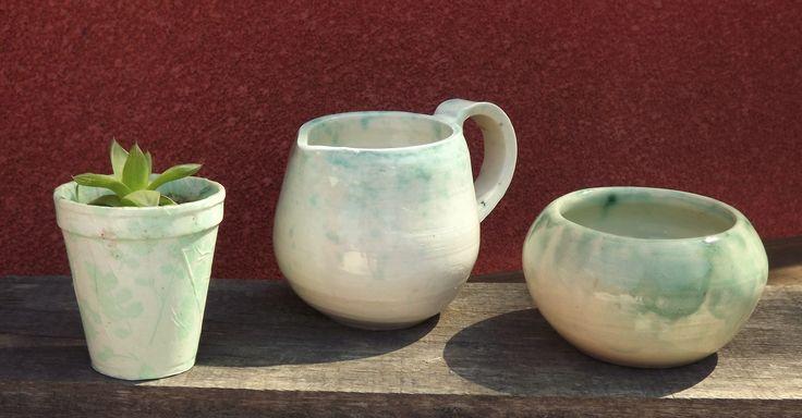 Arcilla de baja esmalte transparente xido de cobre for Arcilla para ceramica