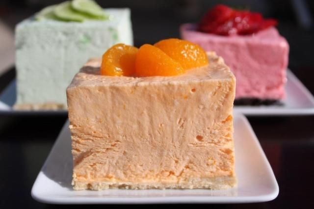 My obsession with Woolworth's Ice Box Cheesecake-Orange!