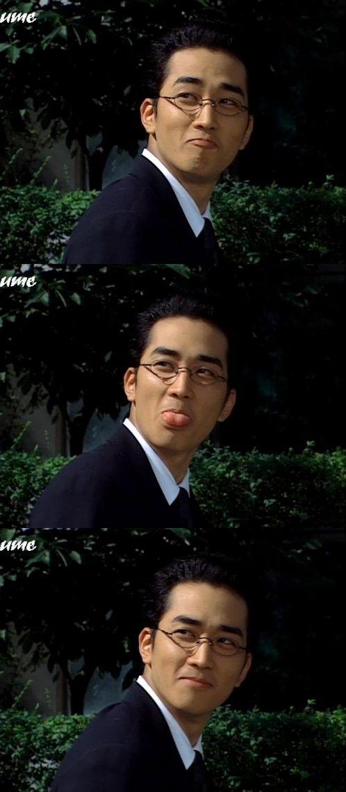 Song Seung Heon.. Cuteness overload!