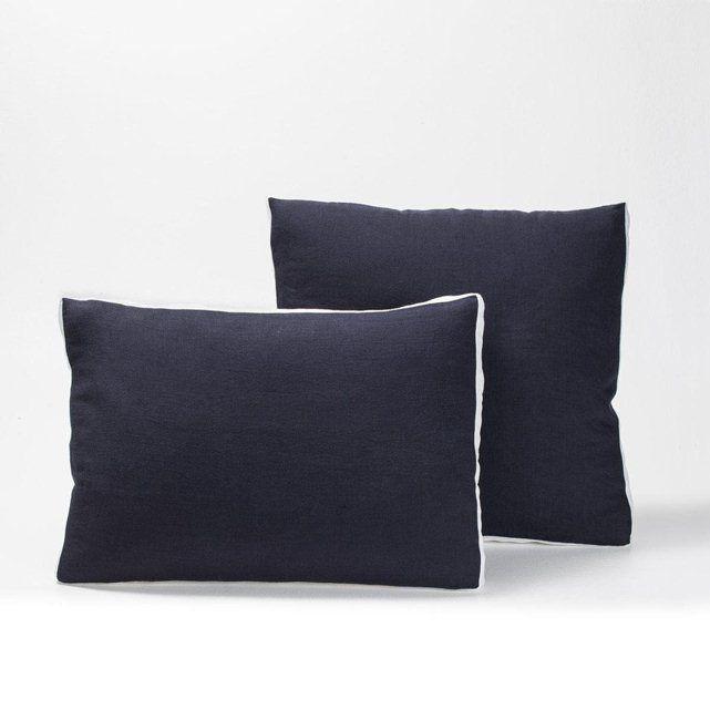 Les 36 meilleures images propos de linge de lit bed - Housse de couette lin ampm ...