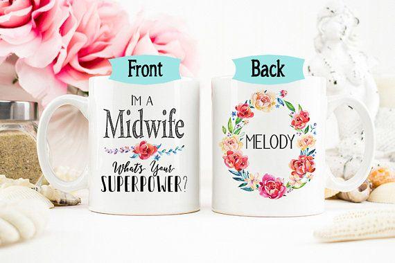 Midwife Mug Doula Mug Gift for Midwife Personalized Labor