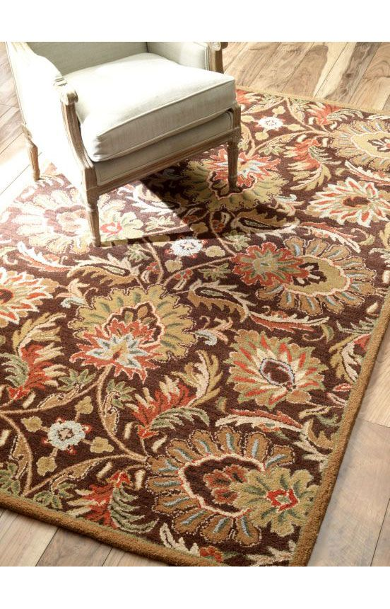 Rugs usa folklore vt03 chocolate rug rugs usa summer sale for Home decorators rug sale