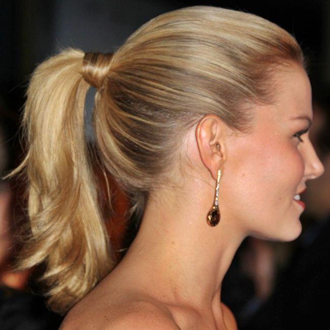 Pferdeschwanz Frisuren 2015 Hair Pinterest
