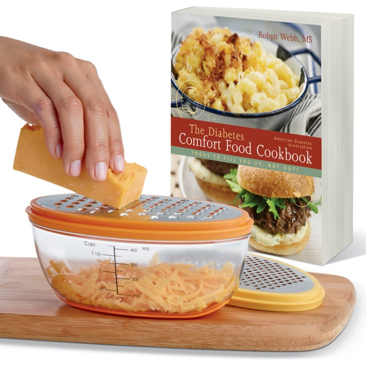 14 best shop for a cause images on pinterest american diabetes this set includes our diabetes comfort food cookbook and a measure and store grater so you can prep the recipes in advance forumfinder Choice Image