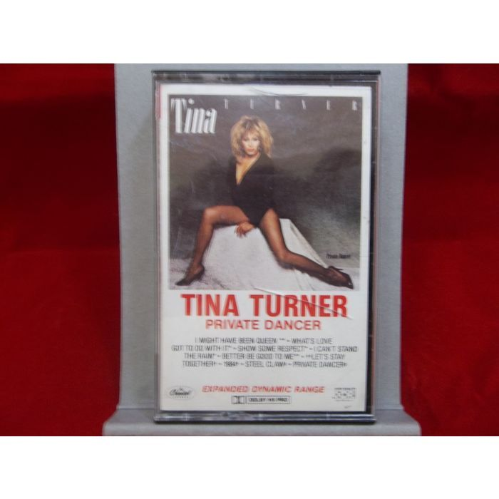 Tina Turner Private Dancer 1984 Expanded Dynamic Range Cassette Tape  #TinaTurner #PrivateDancer #Cassette #ExpandedDynamicRange #Pop #Rock #Music #eBid