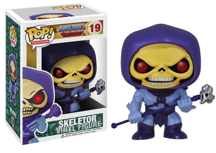 Masters of the Universe POP! Vinyl Figur Skeletor Masters of the Universe - Hadesflamme - Merchandise - Onlineshop für alles was das (Fan) Herz begehrt!