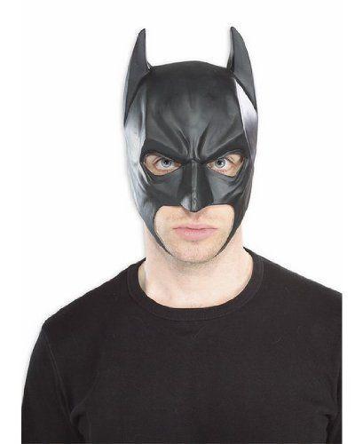 Batman The Dark Knight Rises Three-Fourth Batman Mask, Black, One Size Rubie's Costume Co http://www.amazon.com/dp/B0073E530S/ref=cm_sw_r_pi_dp_-KQwub1JGPJ8X