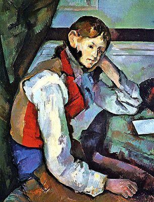 Jeune garçon au gilet rouge (1888-89), de Paul Cézanne      Quantas pessoas na sua organização são pensadores inovadores que podem ajudar nos seus problemas de estratégia mais espinhosos? Quantos possuem uma compreensão interessada das necessidades dos clientes? Quantos sabem o que é preciso para