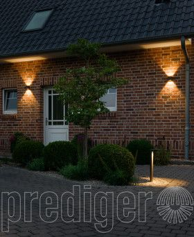 p.037 Zweiseitig Strahlende Verstellbare LED Außen Wandleuchten – CRI>80