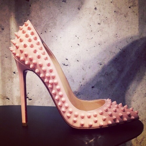Christian Louboutin Pink Pigalle...In complete lust<3