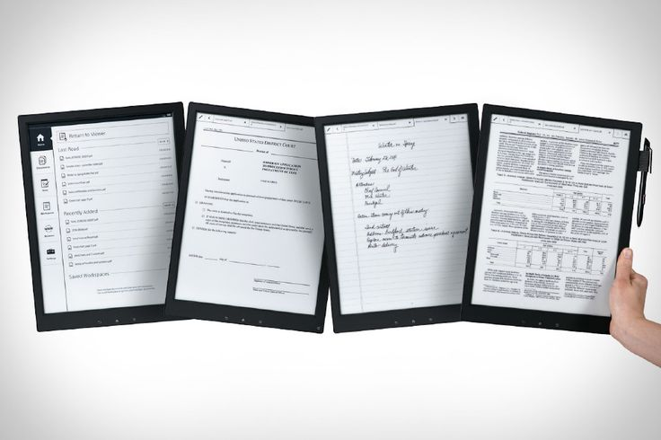 Sony Digital Paper - If the writing experience is as fluid as paper this would be a must have. I would love to see one.