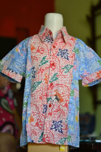 9 best kemeja batik anak images on Pinterest  Batik dress For
