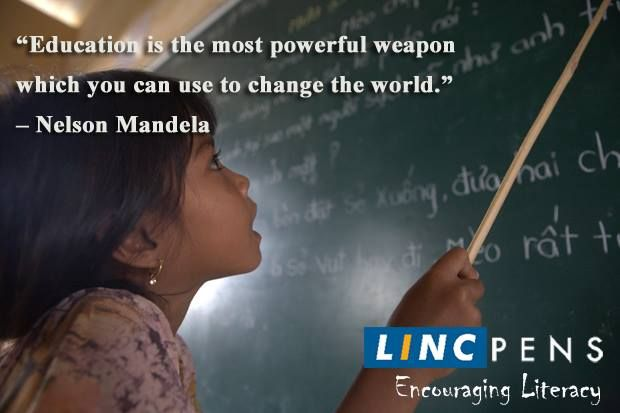 Let's start the week on a positive note Let's pledge to share the knowledge we have to educate the few deprived Small things that we do, can make big differences #LincPens wish you a successful week ahead