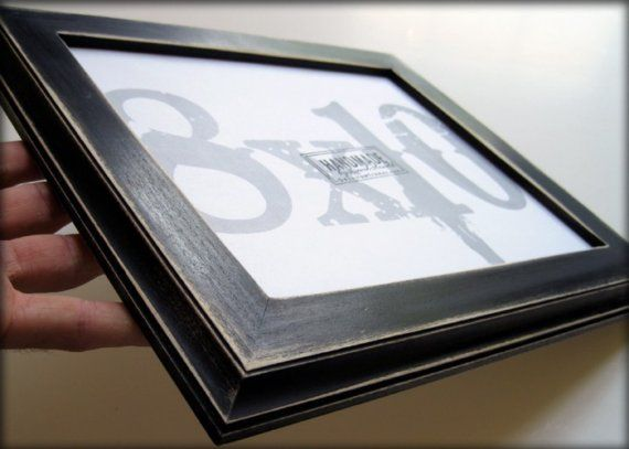 picture frame . 8x10 black picture frame . by DAcustomframes, $28.99
