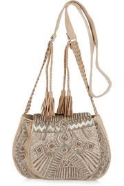 Antik BatikDarie suede shoulder bag
