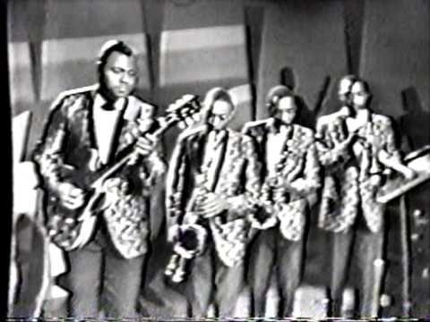 Nashville R&B Night Train Music Program 1965 with an early Jimi Hendrix doing backup guitar.