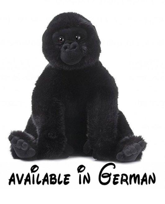 Mimex WWF00129 - Gorilla sitzend, 53 cm. <b>Artikelgruppe Plüsch und Stoff:</b> Tier. <b>Farbe Plüschtiere:</b> Schwarztöne. <b>Geschlecht:</b> Mädchen und Jungen. <b>Größe Stoff:</b> 53 cm. <b>Körperhaltung Plüschtiere:</b> Sitzend. <b>Tierart:</b> Affe. <b>Zielgruppe:</b> Alle #Toy #TOYS_AND_GAMES