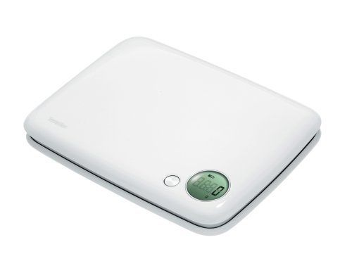 Terraillon Creatis11-Pound Digital Kitchen Scale, White by Terraillon. $19.99. Measures in ounces and pounds. Capacity:  11 pounds. Long-life lithium battery included. Tare function. LCD 37.5 x 37.5 mm. The Creatis11-Pound electronic kitchen scale has a large digit display and also includes a tare function.  The square design is stylish and is easy to store.