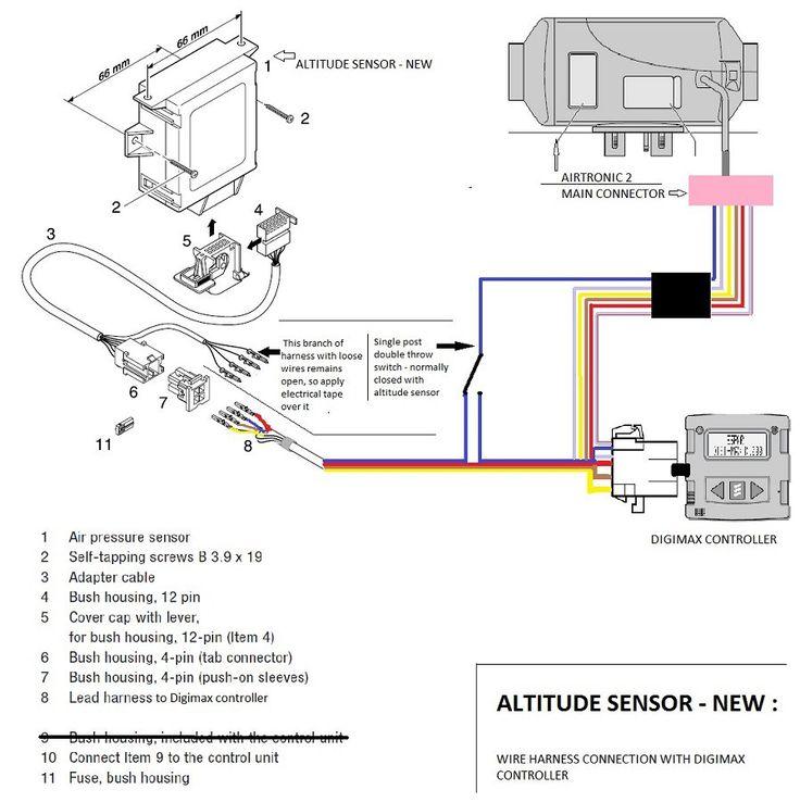 New Style Altitude Sensor Wiring Diagram