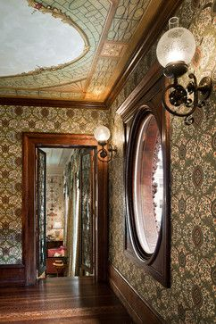 Woodwork/architecture- love! The Jayne House - traditional - hall - philadelphia - Eberlein Design Consultants