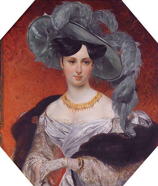 Countess Stephanie Wittgenstein, née Radziwill, 1830, by Karl Pavlovich Bryullov (Russian, 1799-1852)