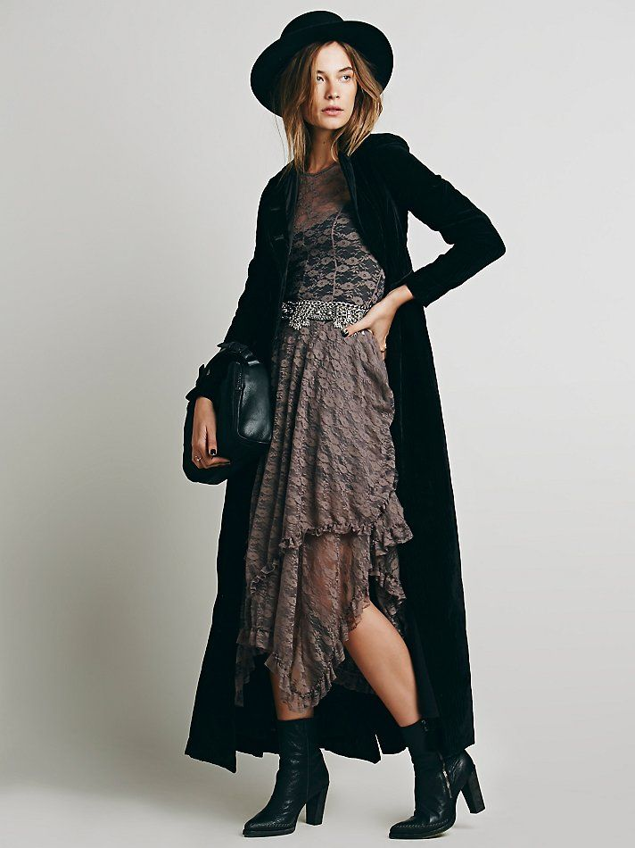 Free People French Courtship Slip, $98.00 Wore the black one for my wedding. Now want the cranberry one for fun. Love this dress!
