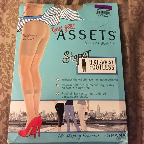 Assets Shaper nude size 5 Assets Shaper high-waist footless from SPANX size 5 new open package SPANX Intimates & Sleepwear Shapewear