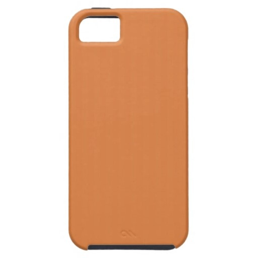 Coral Rose Pantone 16-1349 iPhone 5 Cases