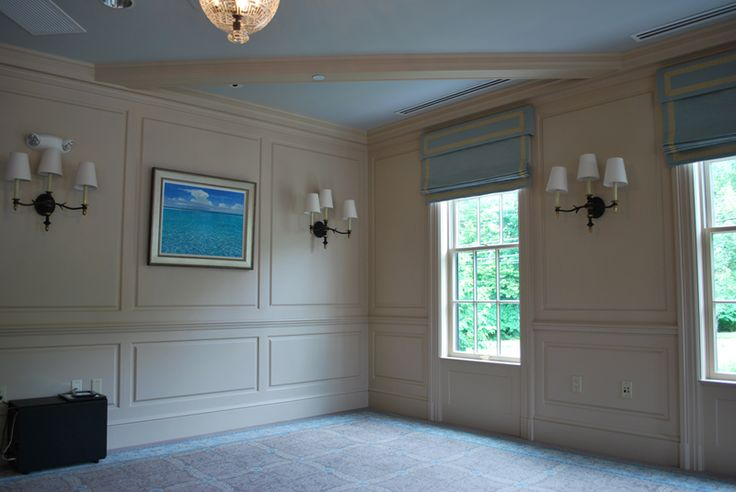 Full Wall Conference Room Wainscoting Delamar Hotel