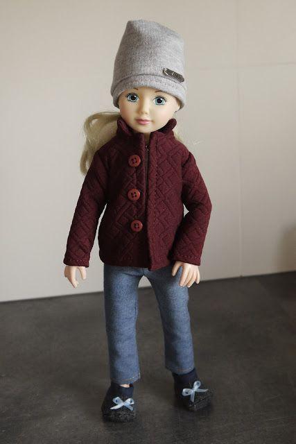 szycienocne: Jolina w zimowej kurtce