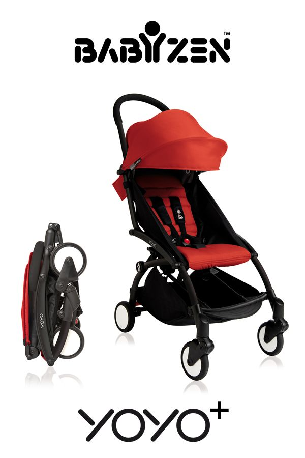 The compact stroller that sets the standard for all the others - can be used from birth and folds up small enough to be hand luggage on a plane! The Babyzen YOYO+ pushchair.